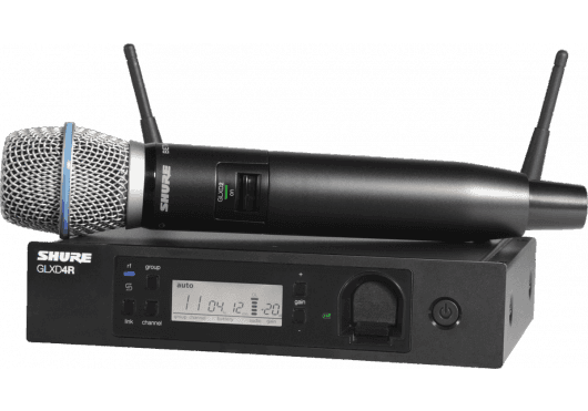 SHURE Systemes HF GLXD24RE-B87A-Z2