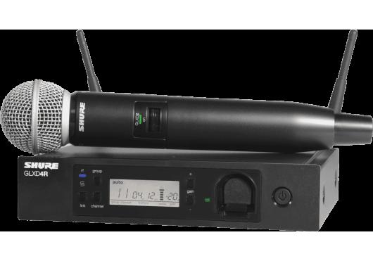 SHURE Systemes HF GLXD24RE-SM58-Z2