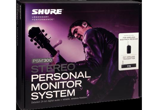 SHURE Ear Monitor P3TER-K3E