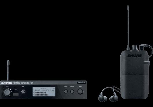 SHURE Ear Monitor P3TER112GR-K3E