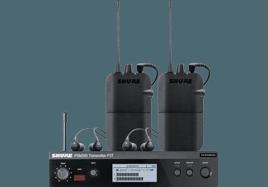 Shure Ear Monitor P3TER112TW-K3E