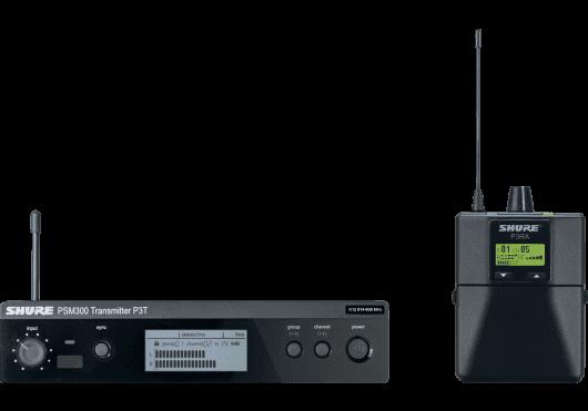 SHURE Ear Monitor P3TERA-K3E