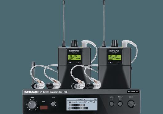 Shure Ear Monitor P3TERA215TWP-K3E