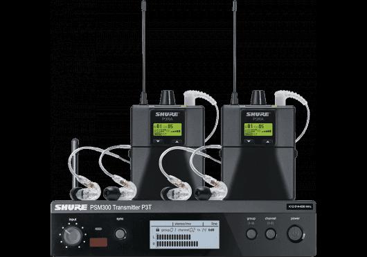 Shure EAR MONITOR P3TERABP215-K3E