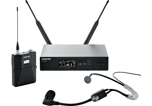 SHURE Systemes HF QLXD14-SM35-K51