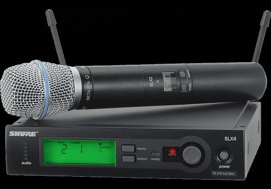 Shure SYSTEMES HF SLX24E-B87A-J3