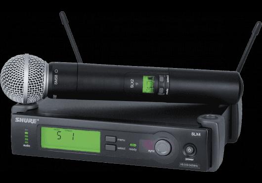 Shure SYSTEMES HF SLX24E-SM58-J3