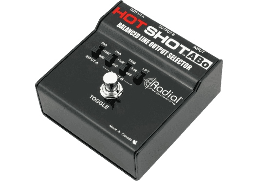 RADIAL ENGINEERING Sonorisation HOTSHOT-ABO