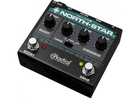 Tonebone Pédales d'effets NORTH-STAR