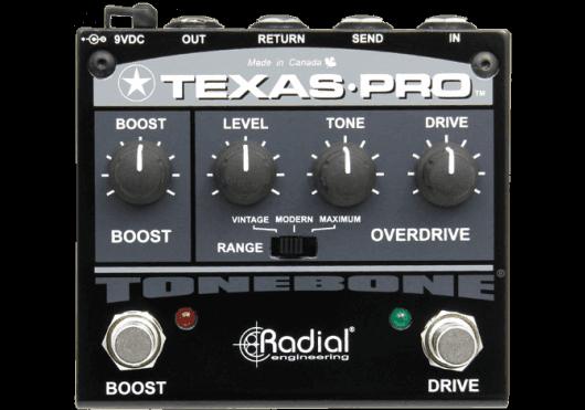 Tonebone Pédales d'effets TEXAS-PRO