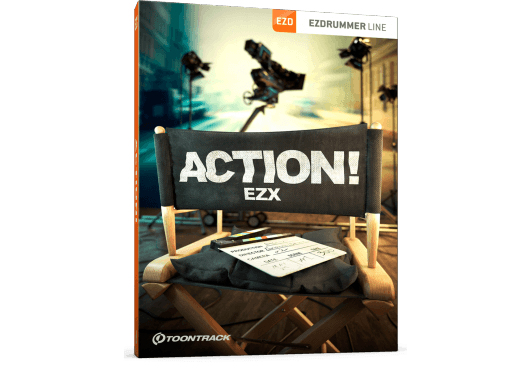 Toontrack EZ DRUMMER ACTIONEZX-SN