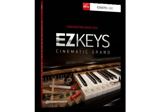 Toontrack EZ KEYS CINEMATICGRAND-SN