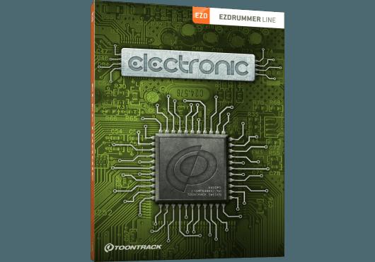 Toontrack EZ DRUMMER ELECTRONICEZX