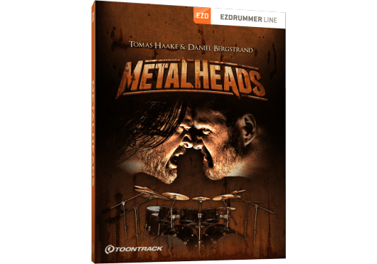 Toontrack Hors catalogue METALHEADS