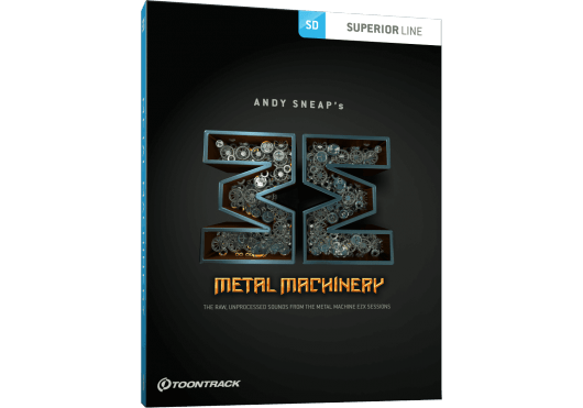 Toontrack Hors catalogue METALMACHINERYSDX