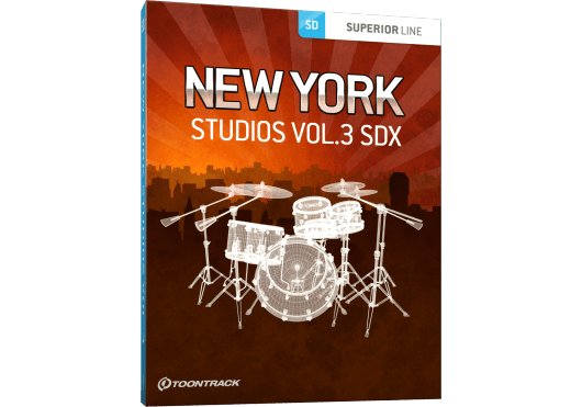 Toontrack Hors catalogue NEWYORKSTUDIO3