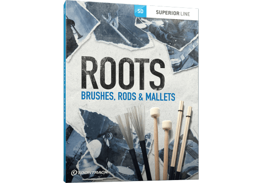 Toontrack SUPERIOR DRUMMER ROOTSBRUSHES