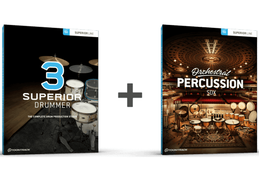 Toontrack SUPERIOR DRUMMER SD3-ORCHESTRAL