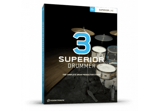 Toontrack SUPERIOR DRUMMER SD3-SERIAL