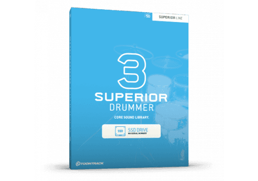 Toontrack SUPERIOR DRUMMER SD3-SSD