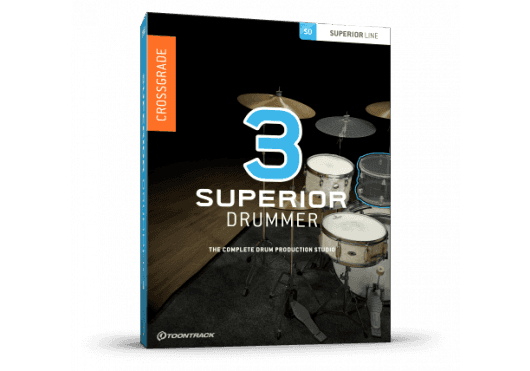 Toontrack SUPERIOR DRUMMER SD3EZD2CG-SERIAL
