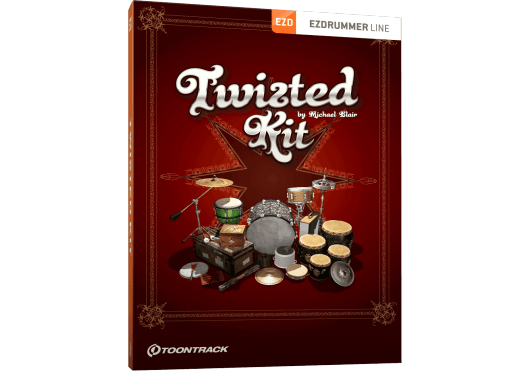 Toontrack Hors catalogue TWISTEDKITEZX