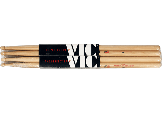 photo Vic Firth - Pack 3x5A + 1x5A Double Glaze