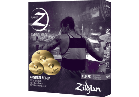 Zildjian Cymbales PLZ4PK