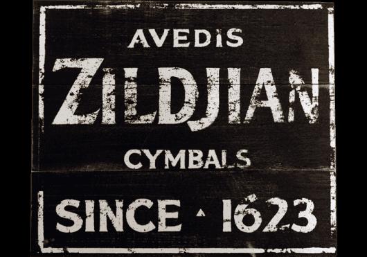 ZILDJIAN Merchandising  ZSIGN1